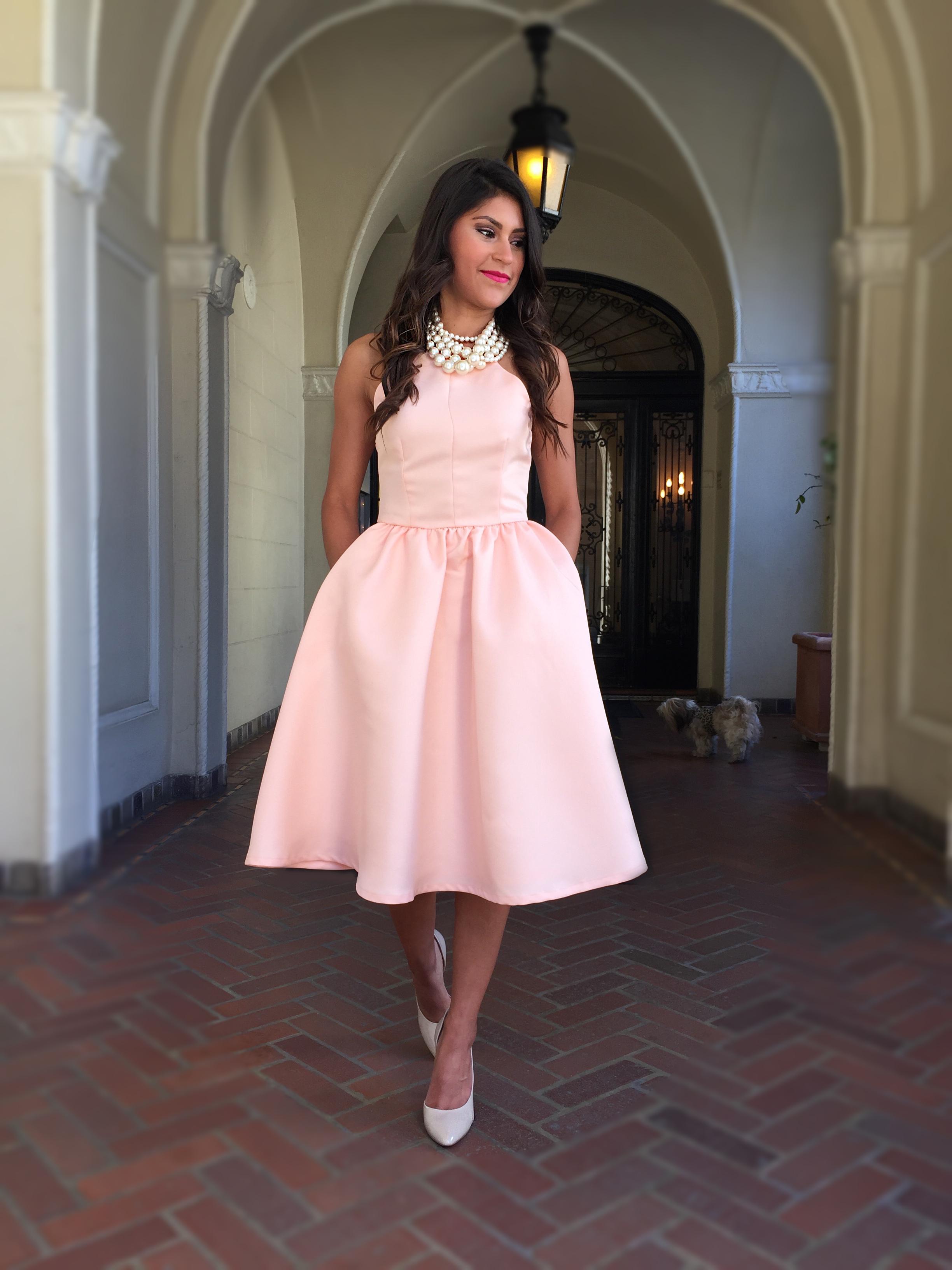Midi Length Full Skirt | Jill Dress